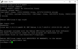 Debian auf der APU